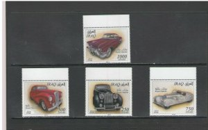 IRAQ: Sc. 1968-71 /** CARS OWNED BY ROYALTY  ** / SET - MNH.