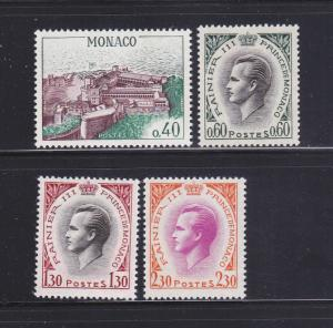 Monaco 602-604A Set MH Various