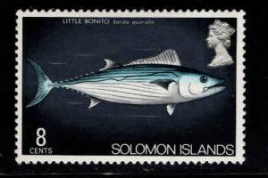 Solomon Islands Scott 301 MH* British Obliterated from design