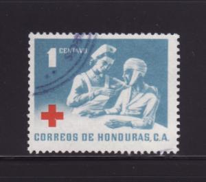 Honduras RA8 Set U Red Cross, Nurse and Patient (B)