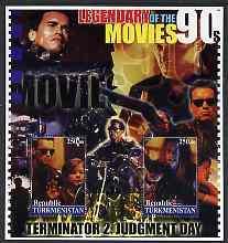Turkmenistan 2002 Legendary Movies of the \'90\'s - Termi...