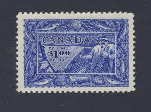 Canada MH $1.00 Stamp #302-#1.00 Fisheries MH VF Guide Value = $60.00