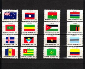 UNITED NATIONS 477-492 MNH 2019 SCOTT SPECIALIZED CATALOGUE VALUE $4.80