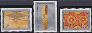 French Polynesia 507-509 MNH (1989)