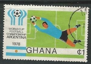 Ghana =  Scott # 663 - Used
