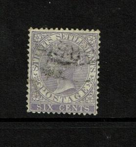 Straits Settlements SG# 66, Used, some creasing - S7489
