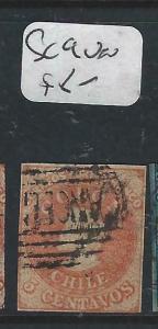 CHILE  (PP1804B)  IMPERF COLUMBUS  5 C  SC 9       VFU
