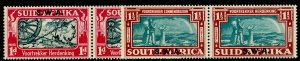 SOUTH WEST AFRICA SG109-110, COMPLETE SET, NH MINT. Cat £38.