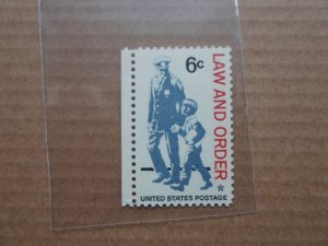 6 CENT STAMP law and order sc # 1343