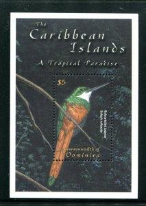 Dominica Sc 2316 Birds Rufous-tailed Jacamer MNH CV $4.75