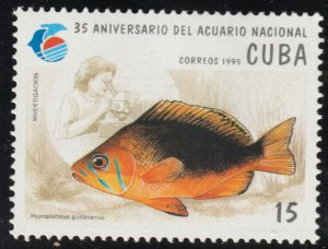 1995 Cuba Stamps Sc 3631 Fish Hypoplectrus guttavarius MNH