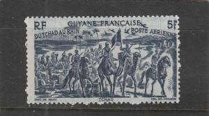 French Guiana  C12  MH  (1946 Chad to Rhine Issue)