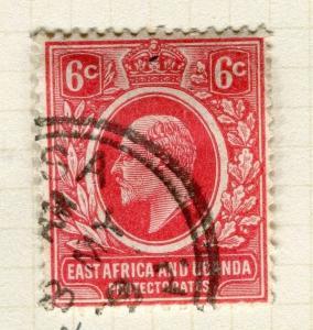 BRITISH KUT; KENYA 1907 early Ed VII issue fine used 6c. value