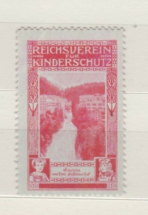Germany - Fund for Protection of Children Charity Stamp - MNH
