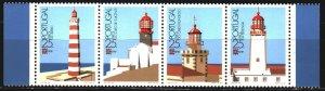 Portugal. 1987. 1723-26. Lighthouses. MNH.