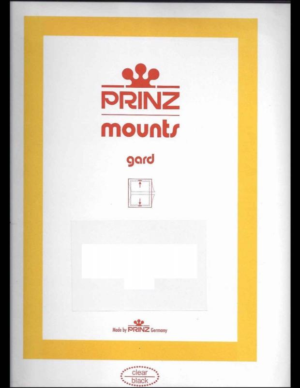 Prinz CLEAR Mount 184x165 CLEAR Bright Eyes Size Pack of 4