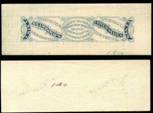 Revenue Match & Medicine Essay Brazer RS109E 6¢ Helmbold's On Card