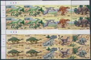 Nauru stamp Dinosuars set corner blocks of 4 2006 MNH Mi 638-645 WS186989