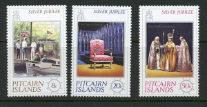Pitcairn Islands 160-62 MH 1977