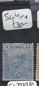 MALAYA NEGRI SEMBILAN  (PP0906B)  5C  TIGER  SG 4   MOG