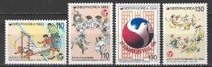 Korea  1792-5  MNH  UPU Congress Korea 1992