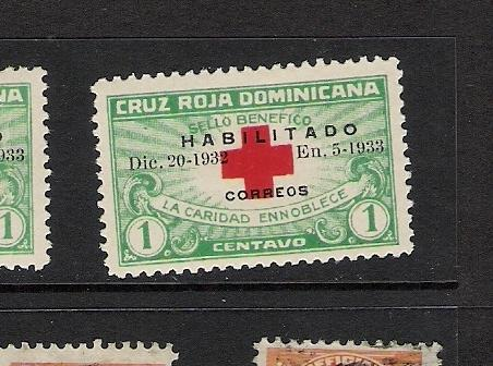 DOMINICAN REP. DOMINICANA 265B MOG FLAT S VAIETY A39 B