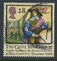 Great Britain SG 1621   Used  - Civel War