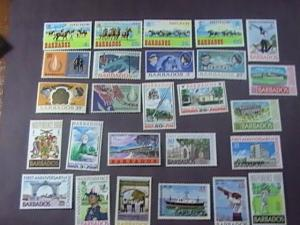 BARBADOS # 290-315 -MINT/NEVER HINGED---26 STAMP RUN---QEII---1966-69