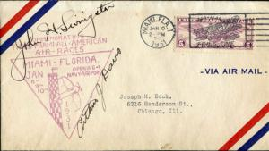 J.H LIVINGSTON/ARTHUR DAVIS-MIAMI AIR RACES CVR BM4636
