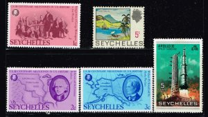 UK STAMP Seychelles MNH STAMPS COLLECTION LOT