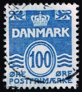 Denmark #691 Wavy Lines; Used (3Stars)