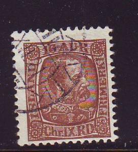 Iceland Sc 39 1902 16 a Christian IX stamp used