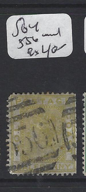 GOLD COAST (PP1804B) QV  1D  SG 4   556  CANCEL   VFU