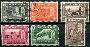 Malaya - Kelantan SC# 72-7, Scenes, Views, People MH & used
