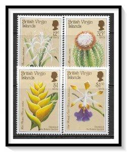British Virgin Islands #585-588 Botanical Gardens Set MNH