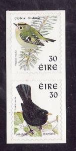 Ireland-Sc#1115a-unused NH-Self-Adhesives-Birds-1998-9-