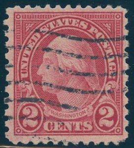 US Scott #579 Used, FVF