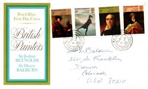 Great Britain, Worldwide First Day Cover, Art