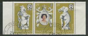 Swaziland - Scott 302a-c - General Issue - 1978 - VFU - Strip of 3 Stamp
