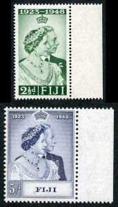 Fiji 1948 Royal Silver Wedding SG270/1 U/M (MNH)
