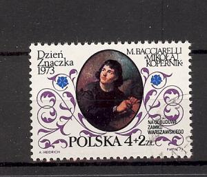 Poland, B129, Painting Copernicus CTO Single, NH