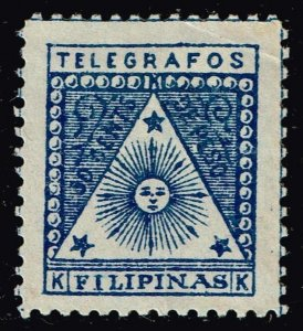 Philippines Stamp  BLUE UNUSED NG TELEGRAPH STAMP