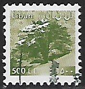 Lebanon # 541 - Cedar Tree - used....{BLW9}