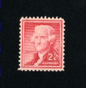 USA #1033  1 used 1954-1968 PD .08