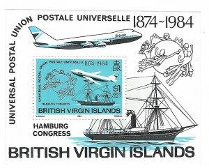 Virgin Islands 470   SS Mint NH VF 1984  PD
