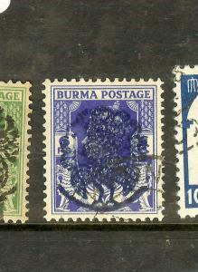 BURMA JAPANESE OCCUPATION (P1912B) SGJ27   VFU