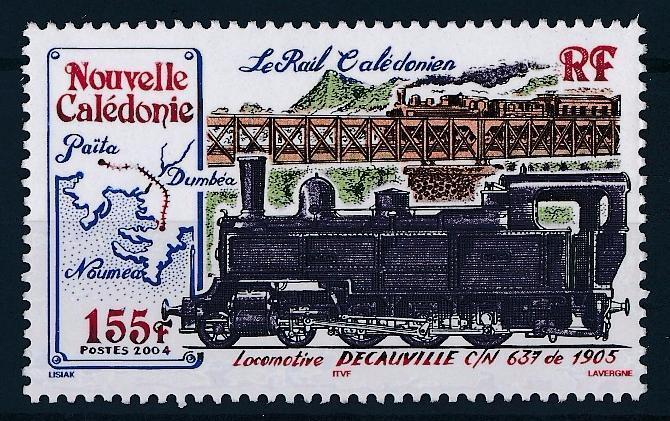[63560] New Caledonia 2004 Railway Train Eisenbahn Chemin de Fer  MNH