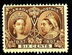 Canada #55 MINT OG HR