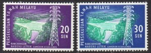 Federation of Malaya 1963 Cameron Highlands Hydro-electric Scheme MH