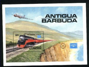 Antigua 938 SS Mint NH VF 1986 PD